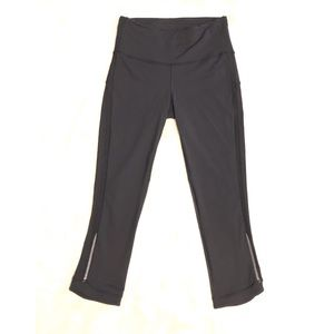 Lululemon Yoga Sweaty Betty Crop Mesh Pants Sz 4